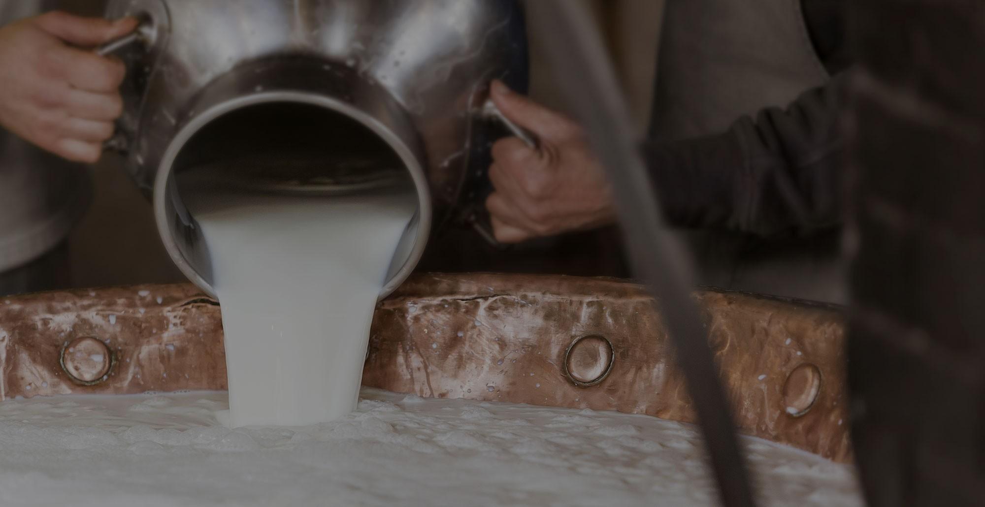 Parmigiano Reggiano DOP, rett hjem til deg