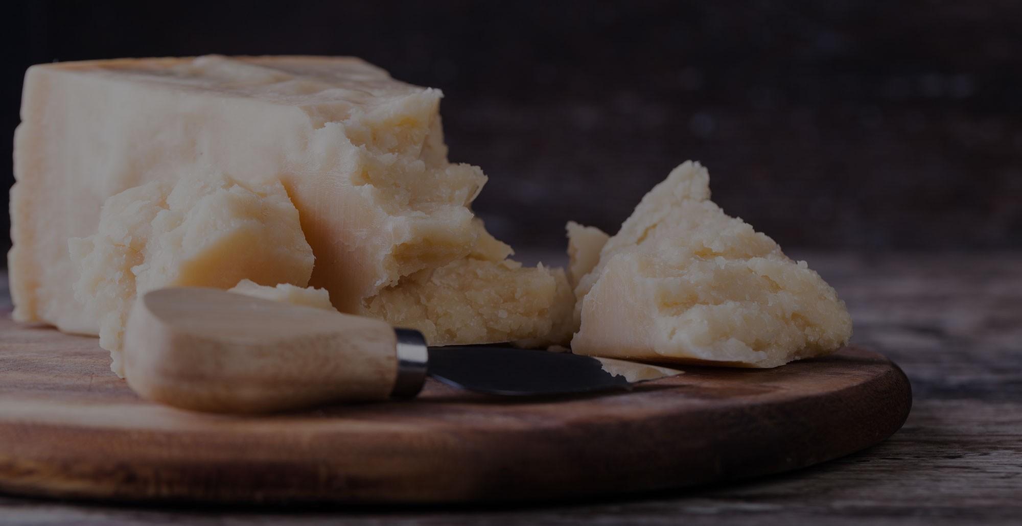 Parmigiano Reggiano DOP, entregue em casa